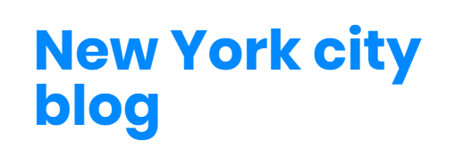 new york city blog logo